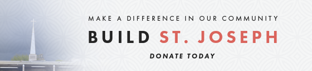 Make a difference in our Community. Build St. Joseph. Donate Today.